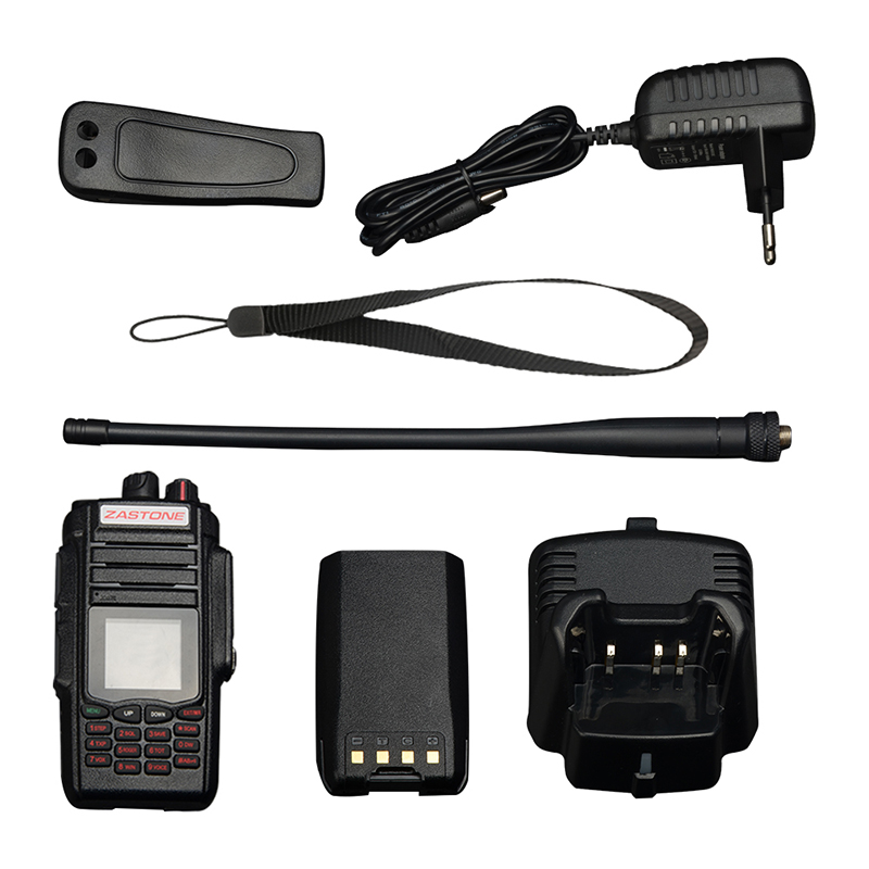 Zastone A19 Walkie Talkie 10W CB Radio Transceiver 10W VHF&UHF Handheld For Hunting Radio 136-174/400-480mhz 6