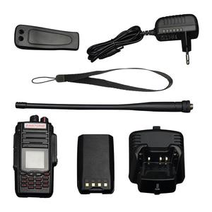 Image 5 - Zastone a19 10w walkie talkie alto powe dupla exibição de rádio em dois sentidos vhf & uhf handheld para a caça presunto fm transceptor