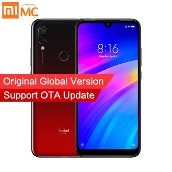 Global Version Xiaomi Redmi 7 3GB RAM 64GB ROM 4000mAh Smartphone 12MP Dual Cameras Snapdragon 632 Octa Core 6.26