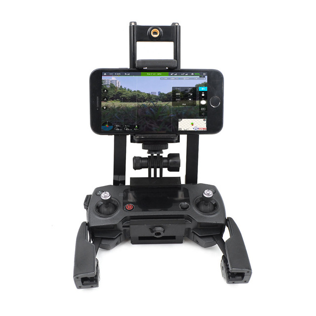 STARTRC DJI Mavic Pro Extended Phone Holder Tablet Bike Bracket Clip Stabilizer DJI Spark Remote Controller / Mavic 2 Pro