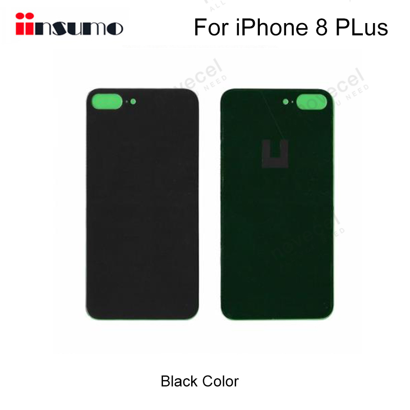 1pcs Generic Quality <font><b>Back</b></font> <font><b>Glass</b></font> Cover for <font><b>iPhone</b></font> <font><b>8</b></font> Plus Battery <font><b>Back</b></font> Cover for phone <font><b>repair</b></font> replacement parts image