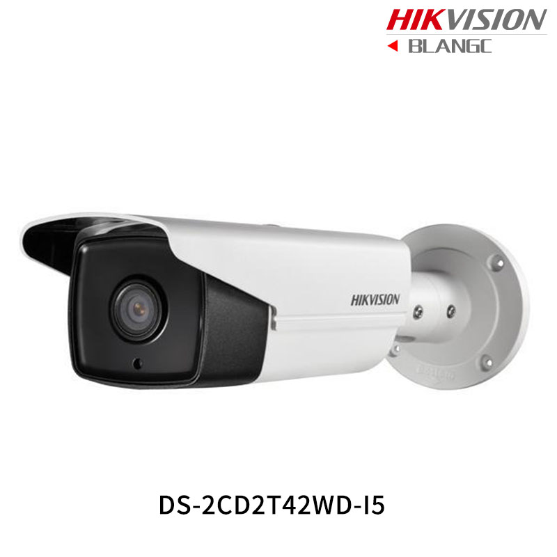 In Stock Hikvision Original English Security Camera DS-2CD2T42WD-I5 4MP EXIR IR Bullet IP Camera WDR POE IP67 50m IR CCTV Camera in stock original hikvision cctv bracket junction box ds 1280zj dm18 indoor celling mount for ds 2cd21series and ds 2cd31series