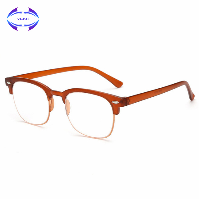 VCKA Flexible Reading Glasses Presbyopic Eyeglasses Unisex Elder Glasses Men Women Eyewear +1.0 +1.5 +2.0 +2.5 +3.0 +3.5 +4.0