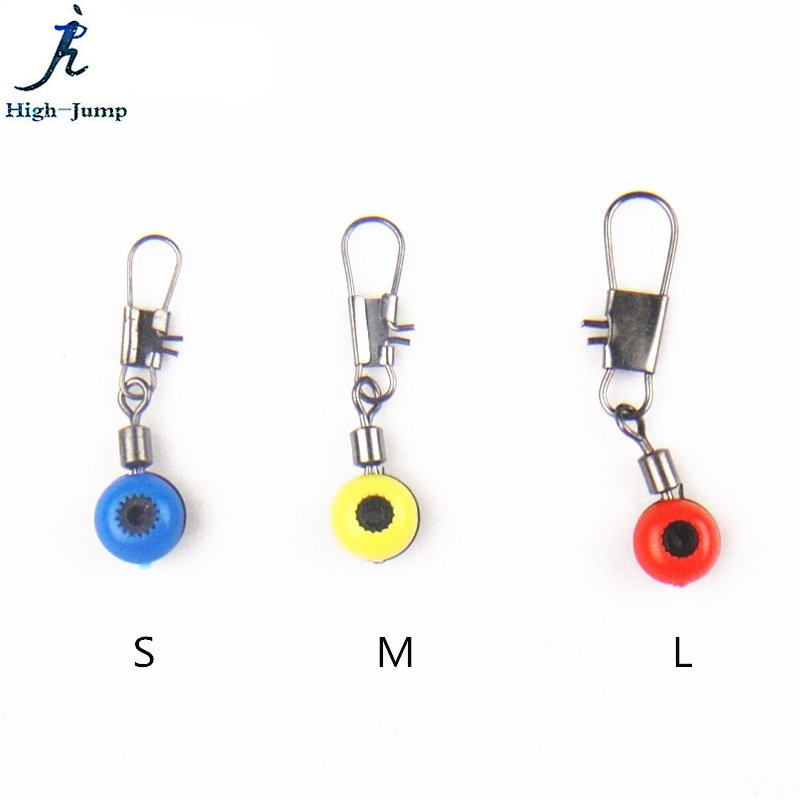 200Pcs Fishing Lure Connector Space Bean Fishing Seat Snap Swivel Connector Space Beans 8 Word Ring Fishing Connector Space Bean