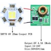 Cree XHP70 6V 6500K Cool White 4500K Neutral White 3000K Warm White High Power LED Emitter