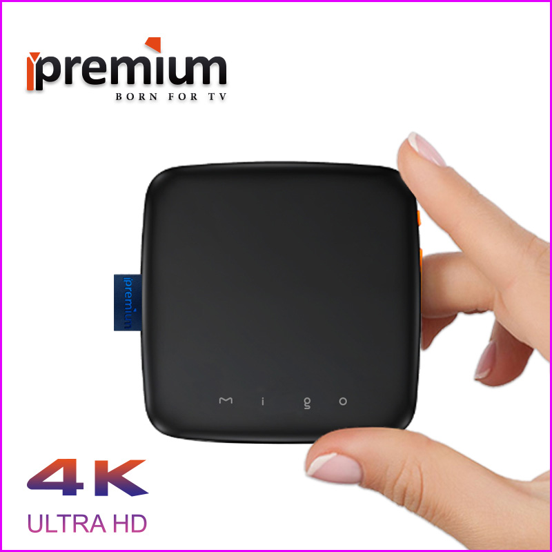 2017 Ipremium Migo pro Android 6.0 tv box Smart 4K Ultra HD 8G  IPTV box Movie WIFI Google Cast Netflix Media Player Set-top box