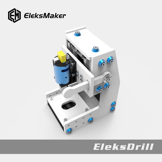 EleksMaker®EleksDrill ספסל מקדחת שולחן עבודה ידני עיתונות Stand קידוח כרסום מכונת משתנה בקרת מהירות