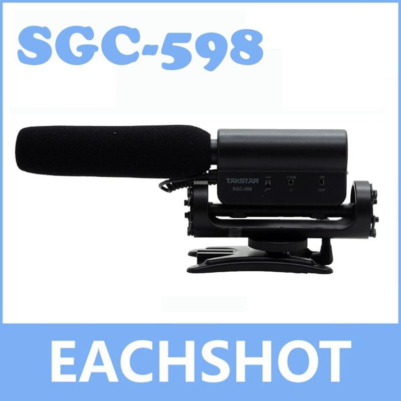 TAKSTAR SGC-598, TAKSTAR SGC-598 Antichoc griffe Condensateur Enregistrement microphone mic pour film interview ramassage pour DV DSLR