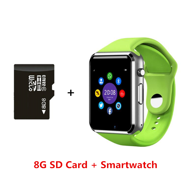 921f82bc0ab72a Bluetooth Smart Watch, A1 Smartwatch Android Phone With TF SIM card Camera  Whatsapp WristWatch For iOS Android PK DZ09 GT08 Y1-in Smart Watches from  ...
