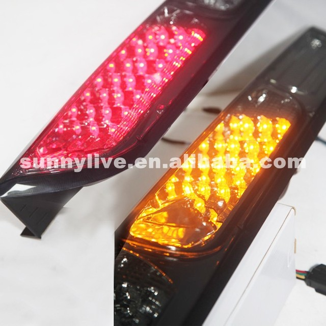 For Ford Focus 2 Hatchback Led Tail Lights 2007 2017 Year Sn