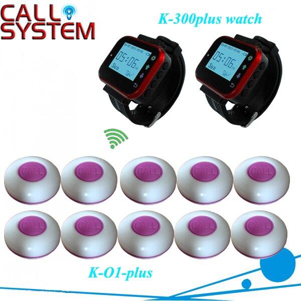 Mesa de restaurante buzzer sistema de pedidos 10 transmisores con 2 ...