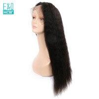 EQ волосы Малайзии странный прямые волосы Синтетические волосы на кружеве человеческих волос парики 150% плотность для черный Для женщин нату
