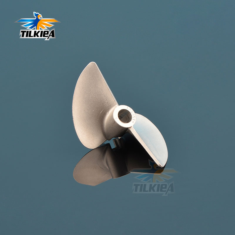RC Boat 4.76mm D40mm 2 Blades Propeller Stainless Steel Propeller Dia 40mm Picth Ratio1.9  For 3/16