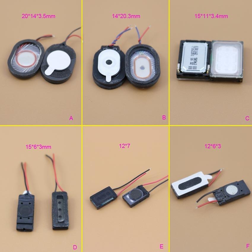 6 Models Loudspeaker Speaker Phone Ringing Earpiece Buzzer For OPPO /samsung/ Motorola L7 Handset Rectangle Earpiece Speaker