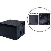 Черный АБС-пластик корпуса Корпус для охлаждения для Orange Pi zero Плата расширения