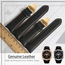 Men's Watch Bands For Tissot T035 1853 Genuine Leather Watch Strap T035627A 417a Brand Watchbands 22MM 23mm 24mm Men Watch Band цена и фото
