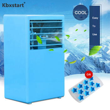 Kbxstart Portable Personal Air Conditioner Fan Appliances Mini Desk Fan Moisturizing Device Air Cooler Fan For Office Room
