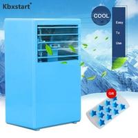 Kbxstart Portable Personal Air Conditioner Fan Appliances Mini Desk Fan Moisturizing Device Air Cooler Fan For Office Room