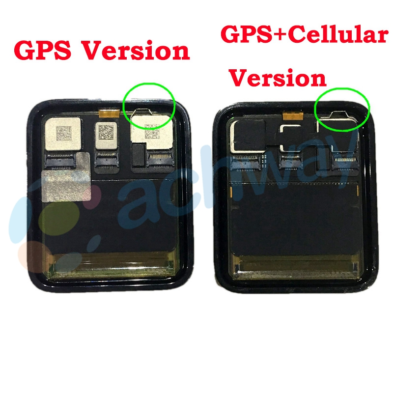 For Apple Watch Series 3 GPS LCD Display Touch Screen Digitizer Series3 S3 38mm42mm Lcd Pantalla Replacement +Tools