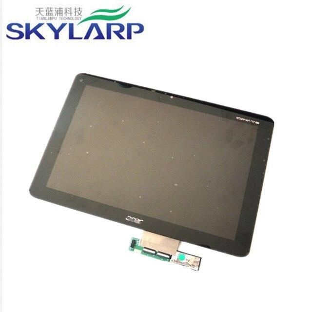 10.1 дюймов ЖК-Модуль С Сенсорным Экраном Замена для Acer iconia Tab A210 A211 Tablet PC ЖК-экран панели