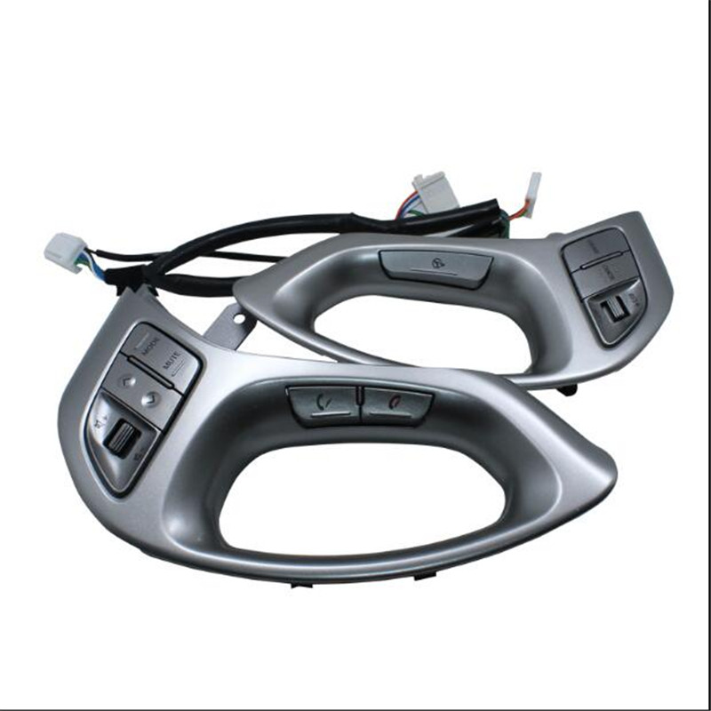 ФОТО For Hyundai ix35  Steering Wheel Control Right And Left Buttons With Bluetooth Iphone  Line speed