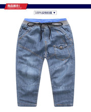 Children Boys Pants Cotton Full Length Boys Clothing Autumn Fashion Kids Boys Casual Wearing Kids jean Pants 2 3 4 5 6 7 8 9T