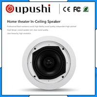 OUPUSHI KS 818 Home sound system ceiling speaker cover 5 inch amplifier speaker 30w Impedence speaker ohm speaker