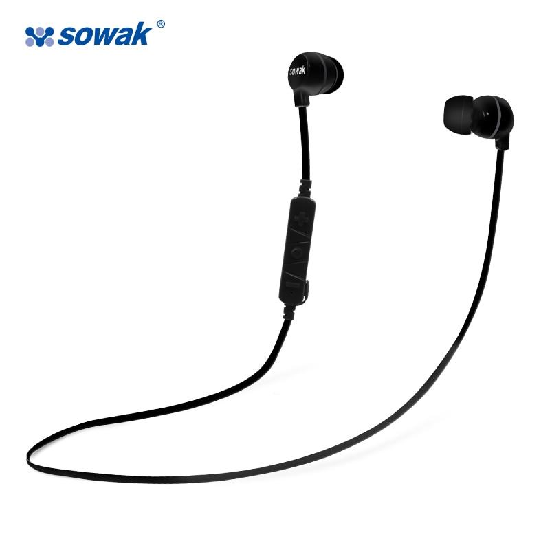Sowak H3 Original Earphones Bluetooth headphones with microphone Super Bass Headset for Earpods Airpods Xiaomi Gaming iphone 7
