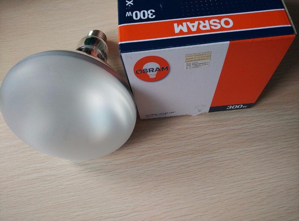 OSRAM ULTRA-VITALUX 230V 300W,300W E27/ES ULTRA VITALUX lamp ,sun tanning heliothrapy solarium bulb цена