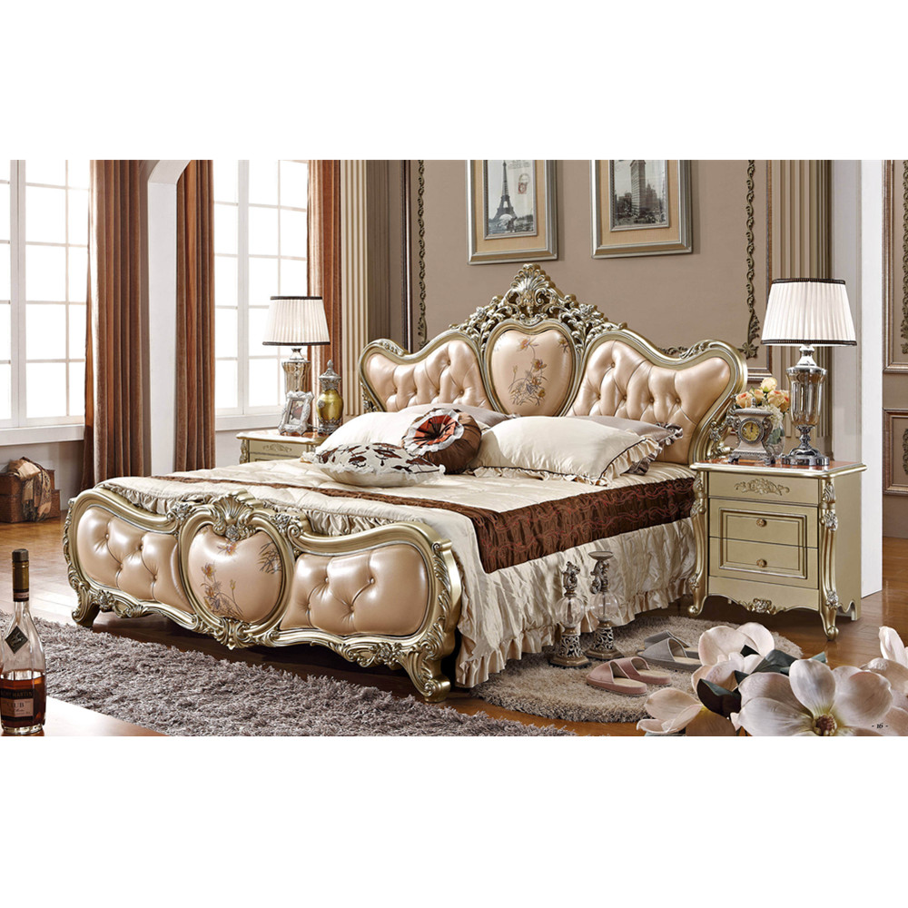 US $890.0 |Foshan factory European antique king size bedroom furniture  set-in Bedroom Sets from Furniture on Aliexpress.com | Alibaba Group