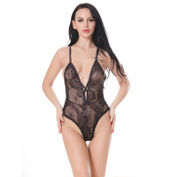 2017 New Hot Sexy Lingerie Lace Abrir Bra Teddy Lingerie Lenceria Lingerie erótica Sexy Night Dress Plus Size S M L XL XXL