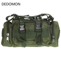 600D Waterproof Oxford Fabric Climbing Bags Outdoor Military Tactical Waist Pack Molle Camping Hiking Pouch Bag