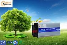 Solarparts 1x 500W solar inverter PSW 12V/24V DC to 220V/110V AC outdoor RV Marine car home camping off grid solar panel kits
