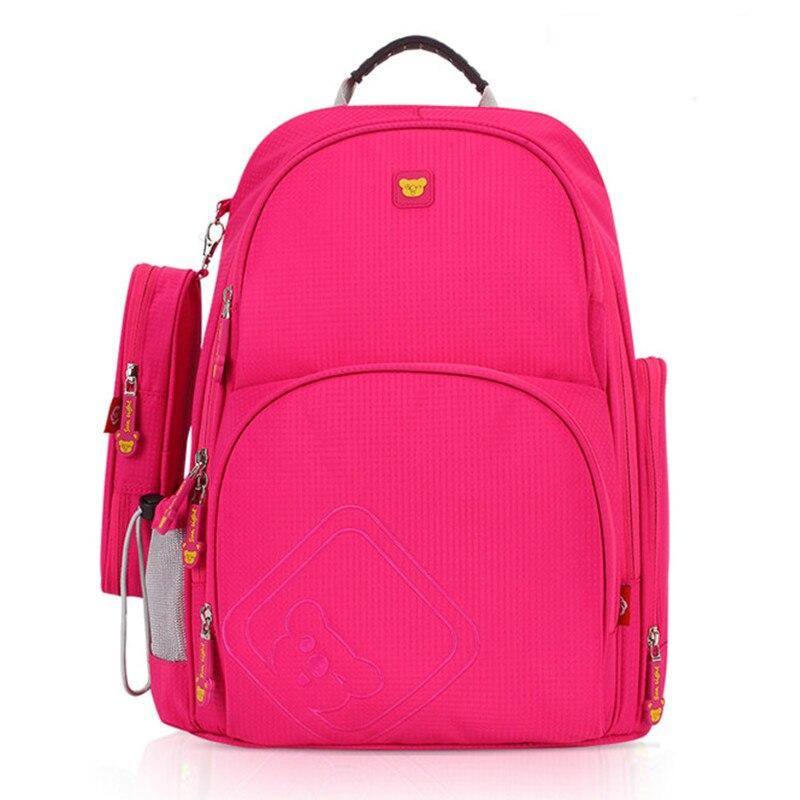 ФОТО Student School Bags For Girls Boys Waterproof Children Backpacks Kids Bag With Pencil Case School Backpack Mochila Escolar