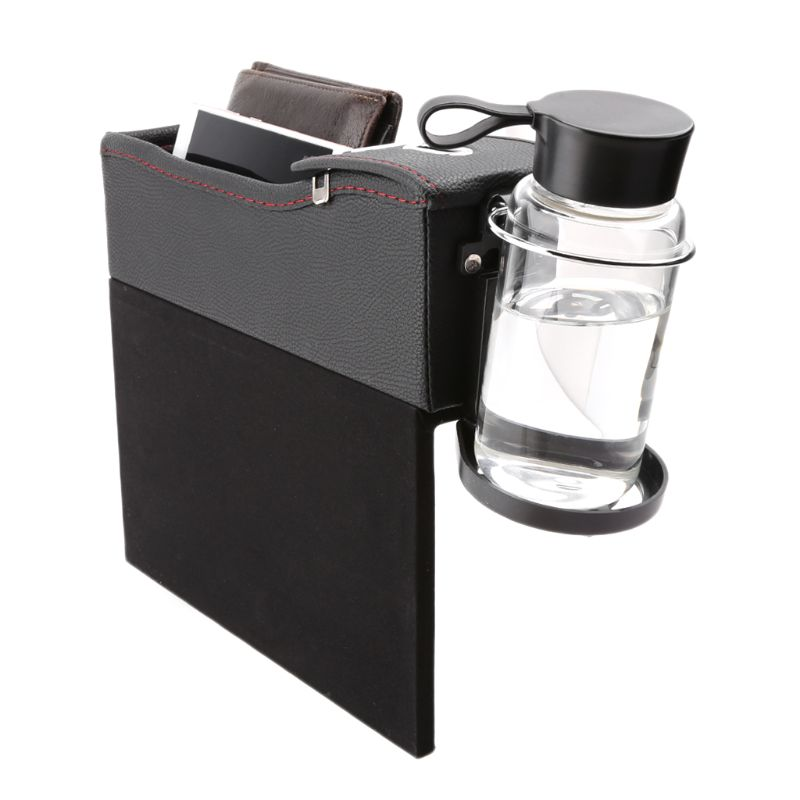 Car Seat Crevice Storage Box With Gap Pocket Cup Holder Phone Case Coin Box