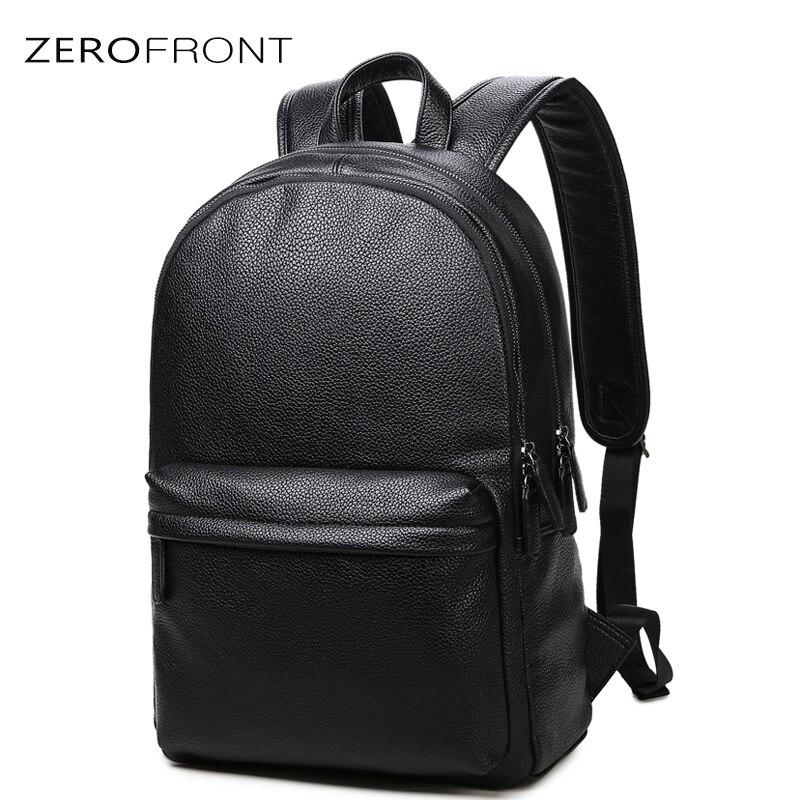 2018 Nouvelle Mode étanche 15 pouces sac à dos pour ordinateur portable sacs à dos en cuir pour hommes pour adolescent Hommes décontracté Sacs À Dos mochila mâle