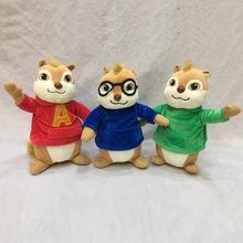 Новое поступление 2019 плюшевые игрушки Элвин и чипсы мультяшная