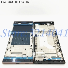 New Middle Frame For Sony Xperia XA1 Ultra Bezel LCD Housing Chassis Mid Faceplate Replacement Repair Spare parts