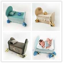 Аксессуары для детской кроватки для новорожденных, вспомогательные реквизит, студийная кровать для новорожденных, станция для съемки фотосессии, реквизит для детской фотосессии для девочек