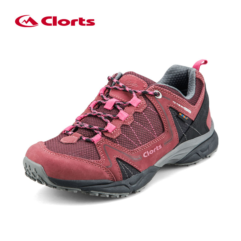 2016 Women Clorts Outdoor Shoes 6270726 Cow Suede Hiking Shoes Uneebtex Camping Shoes EVA Sports Shoes