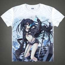 Black Rock Shooter T shirts kawaii Japanese Anime t shirt Manga Shirt Cute Cartoon Mato Kuroi