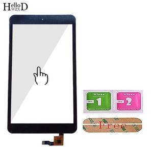 Image 4 - 8 Touch Digitizer For Alcatel One Touch POP 8 P320X P320 Touch Screen Touch Panel Lens Sensor TouchScreen Tools 3m Glue Wipes