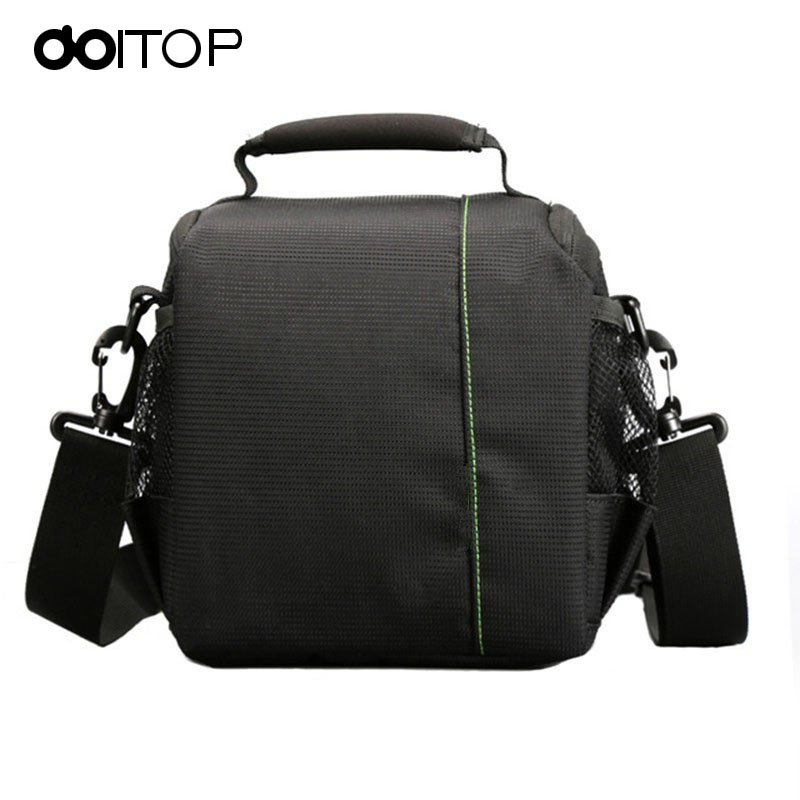 DOITOP Waterproof Backpack For Lenses Camera Padded Travel Outdoor Shockproof Small Shoulder Bag For Canon DSLR Camera