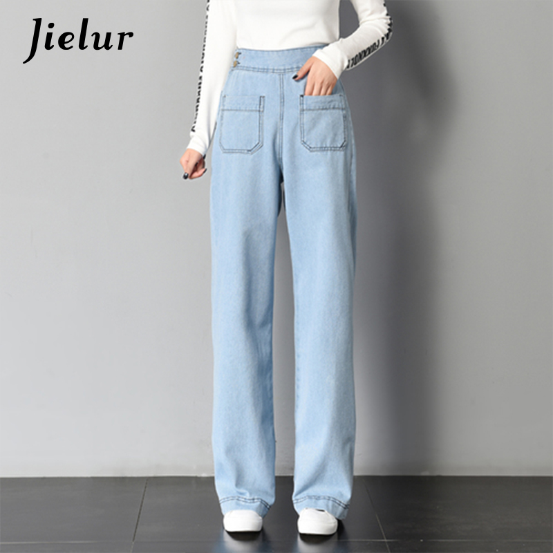 42af281e6f3 Womens New Fashion Street chic Vintage Loose Wide Leg Flare Jeans Pants  Spring Summer Fall Stylish Denim Trousers Plus size 5XL