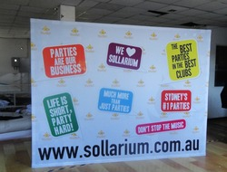 CUSTOM Print Straight Fabric Backdrop (SIZE: 8ft) FREE SHIPPING! / Fabric pop up banner / Fabric backdrop / Background wall