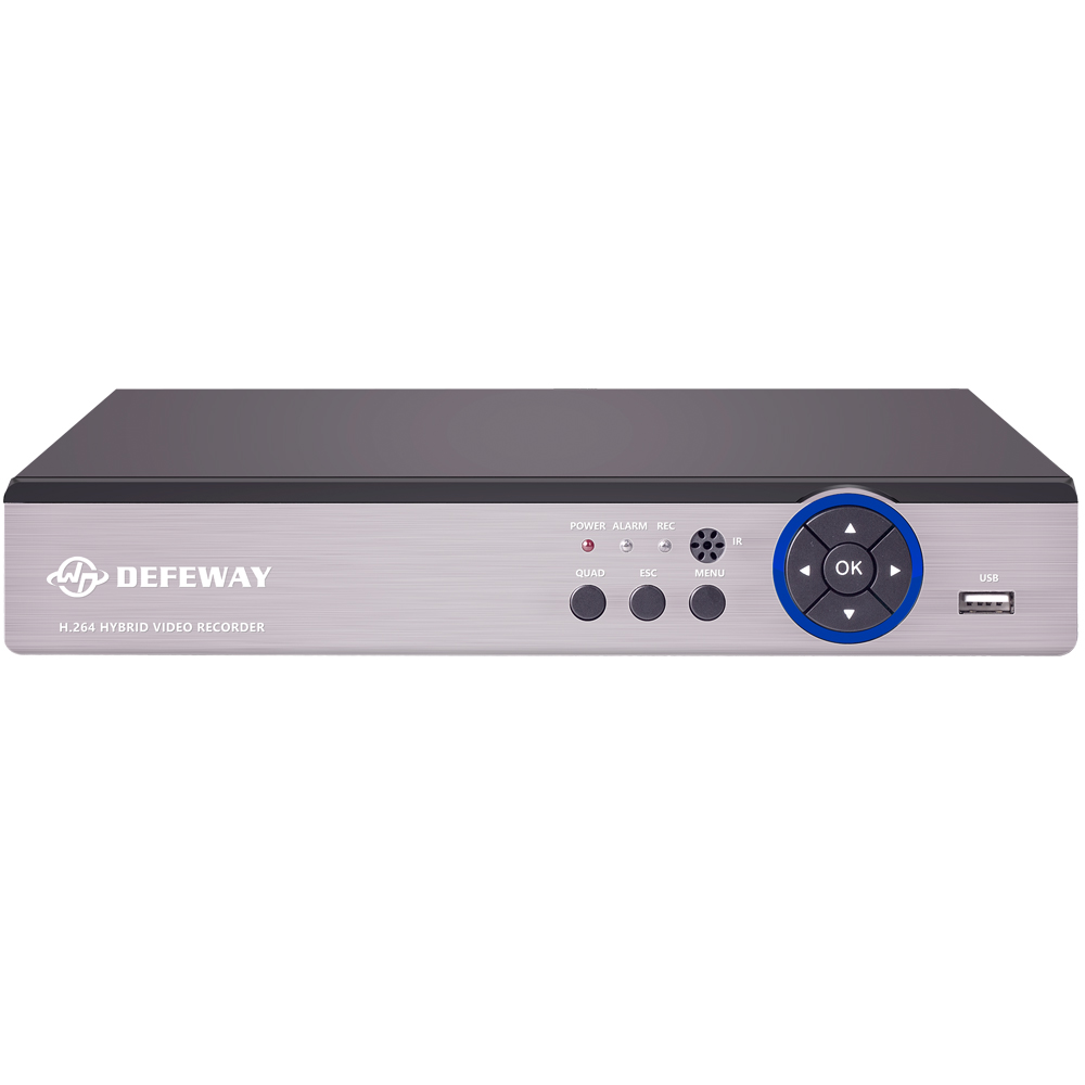 DEFEWAY 1080N HDMI Surveillance Video Recorder 16 CH AHD DVR HDD Network P2P 16 Channel CCTV Security System цена 2017