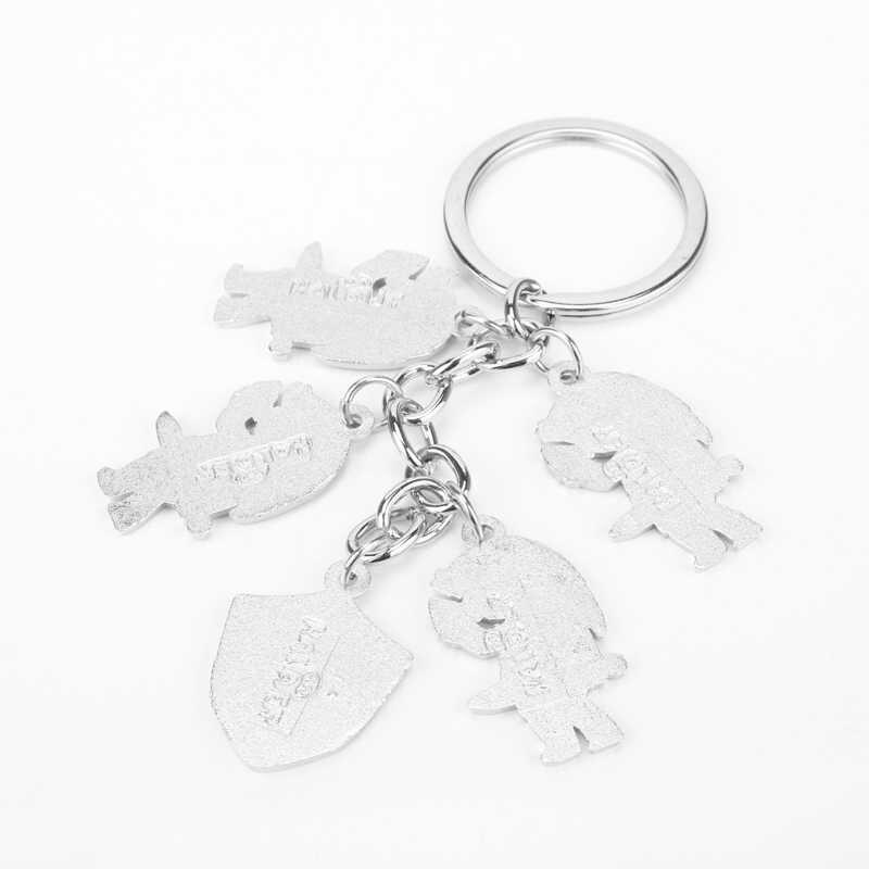 Sieraden Mode De Legend Of Zelda Sleutelhanger Metalen Cijfers Sleutelhangers Hangers Voor Mannen Vrouwen Auto Accessoires-50