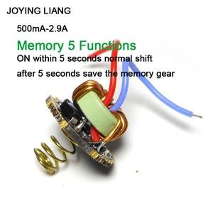 Image 5 - JYL 7801 Flashlight 1 3 Batteries Universal Constant Current T6/U2/L2 Driver Board QX9920 22MM Electric Circuit Board
