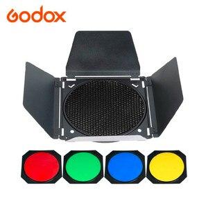 Image 1 - Đèn Flash Godox BD 04 Kho Thóc Cửa + Tổ Ong Lưới + 4 Màu Bộ Lõi Lọc Cho Studio Ảnh Đèn Flash