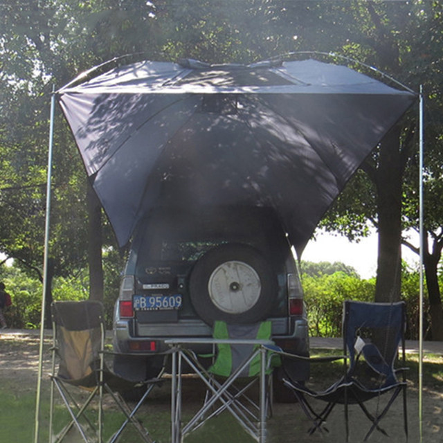 image & Online Shop Outdoor Folding Car Tent Camping Shelter Anti-UV ...